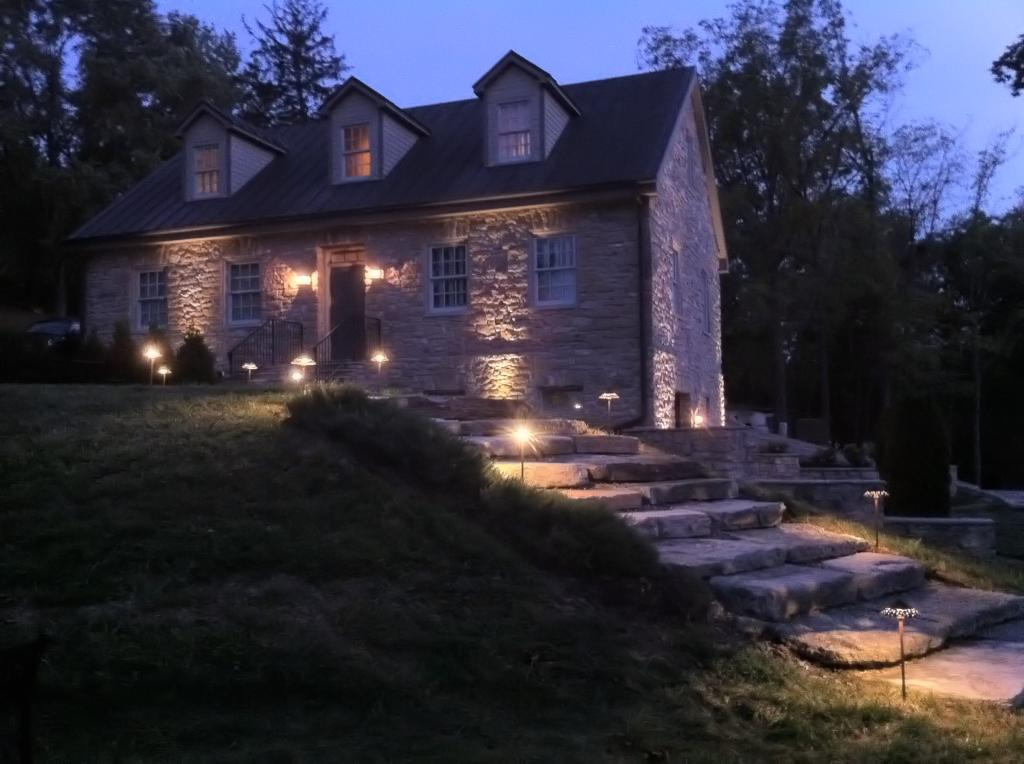 Outdoor lighting systems northampton gardens bucks county area landscape lighting aloadofball Images